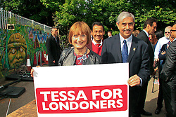 Under license to London News Pictures. 19/05/2015.  Labour Party MP Tessa Jowell at No 6 Somerleyton Road, a community centre in Brixton, South London, for the launch of her campaign to become Labour's next candidate in the London mayoral election. Photo credit: LNP
