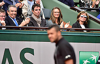Mary PIERCE / Jo Wilfried TSONGA - 31.05.2015 - Jour 8 - Roland Garros 2015 <br />