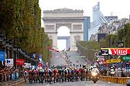 Illustration peloton, Scenery, Champs Elysees, Arc de Triomphe during the 105th Tour de France 2018, Stage 21, Houilles - Paris Champs-Elysees (115 km) on July 29th, 2018 - Photo Luca Bettini / BettiniPhoto / ProSportsImages / DPPI
