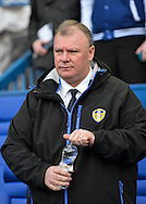 Leeds United Manager Steve Evans during the Sky Bet Championship match between Sheffield Wednesday and Leeds United at Hillsborough, Sheffield, England on 16 January 2016. Photo by Adam Rivers.