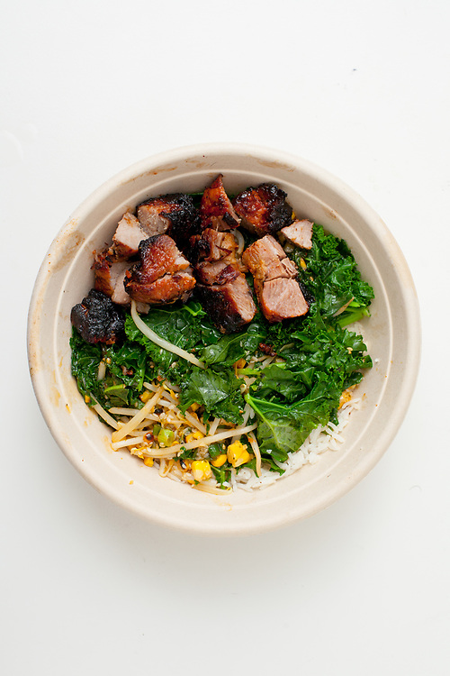 Ginger Pork Bowl from Roast ($14.15) - WFNYC:  T2 Planning