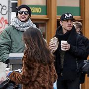 20150131 Adam Lambert en vriend
