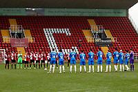 Team. Woking FC 1-4 Stockport County FC. Vanarama National League. KIngfield Stadium. 30.1.21