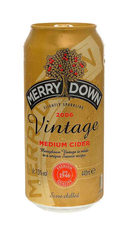 Can of Merry Down Cider