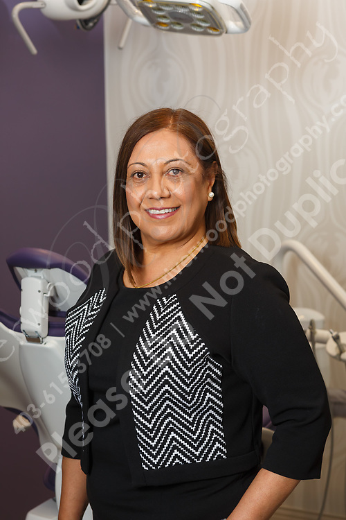 Business portraits for use on the dental clinic website and marketing collateral, as well as for LinkedIn and other social media marketing profiles.<br /> <br /> ©2018, Sean Phillips<br /> http://www.RiverwoodPhotography.com