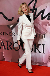 Eva Herzigova attending The Fashion Awards 2016 at The Royal Albert Hall in London. <br /> <br /> Picture Credit Should Read: Doug Peters/ EMPICS Entertainment