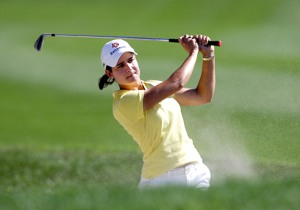 Lorena Ochoa at the Kraft Nabisco Championship.