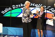 DESCRIZIONE : Milano Italia Basket Hall of Fame<br /> GIOCATORE : Mabel Bocchi Rosetta Bozzolo<br /> SQUADRA : FIP Federazione Italiana Pallacanestro <br /> EVENTO : Italia Basket Hall of Fame<br /> GARA : <br /> DATA : 07/05/2012<br /> CATEGORIA : Premiazione<br /> SPORT : Pallacanestro <br /> AUTORE : Agenzia Ciamillo-Castoria/GiulioCiamillo