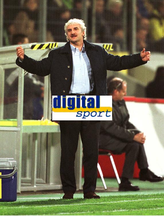 Rodi VöLLER, Rudi<br />                               Fu§balltrainer    Deutschland <br />Deutschland - Albanien  2:1<br />WM-Qualifikation