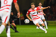 Herbie Kane of Doncaster Rovers (15) in action during the EFL Sky Bet League 1 match between Doncaster Rovers and Sunderland at the Keepmoat Stadium, Doncaster, England on 23 October 2018.