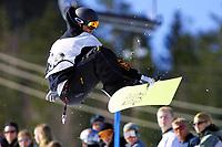 Snowboard, NM halfpipe, Kongsberg Skisenter 24. mars 2001. Arild Brun Kjeldaas.