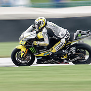 August 8, 2009, James Toseland practices during Free Practice 1 at the Red Bull Indianapolis Grand Prix.
