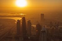 Sunrise view from Burj Khalifa