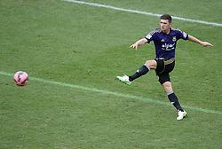 West Ham's Aaron Cresswell - Photo mandatory by-line: Alex James/JMP - Mobile: 07966 386802 - 25/01/2015 - SPORT - Football - Bristol - Ashton Gate - Bristol City v West Ham United - FA Cup Fourth Round