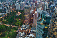 City Centre from Sydney Tower (Evening)