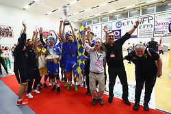 IL TEAM VOLLEY PORTOMAGGIORE ESULTA<br /> SAMA TEAM VOLLEY PORTOMAGGIORE - DELTA VOLLEY PORTO VIRO<br /> FINALE COPPA ITALIA SERIE B PALLAVOLO MASCHILE 2017 - 2018 A PORTO VIRO