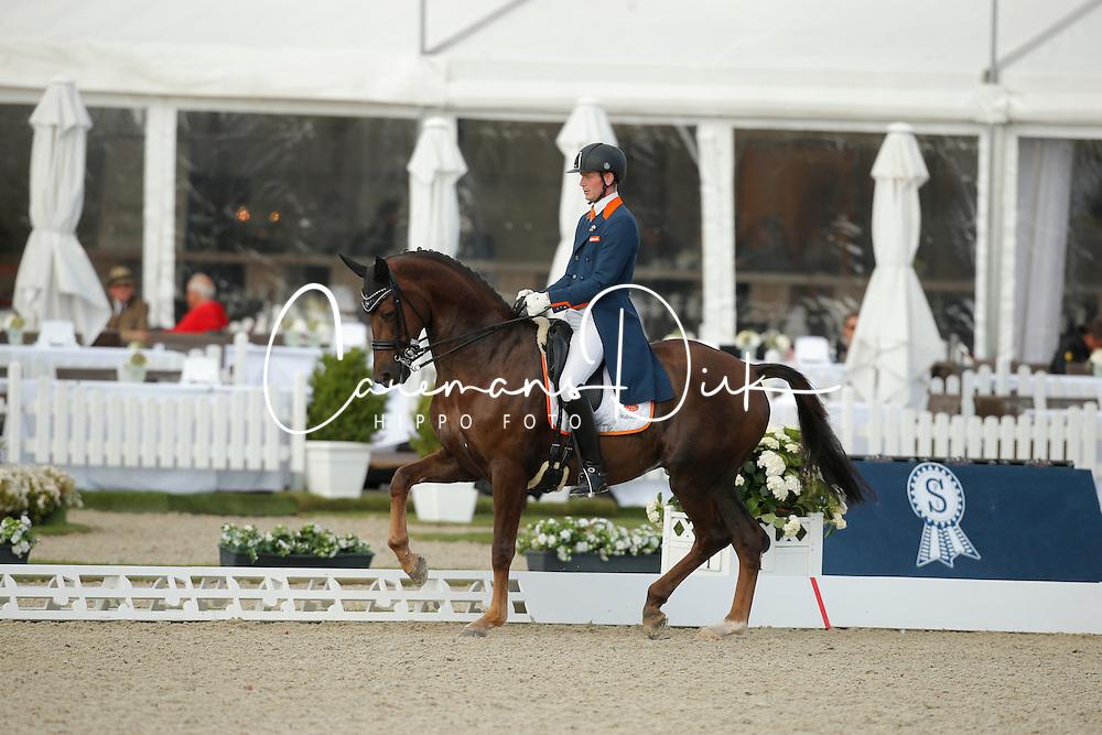 jVan Silfhout Diederik, (NED), Bonzanjo <br /> Grand Prix<br /> CDIO Hagen 2015<br /> © Hippo Foto - Stefan Lafrentz<br /> 09/07/15