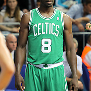 Boston Celtics's Jeff Green during their NBA Europe Live 2012 The four-game tour tips match Fenerbahce Ulker between Boston Celtics at Fenerbahce Ulker Sports Arena in Istanbul, Turkey, Friday, October 05, 2012. Photo by TURKPIX