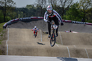 #3 (GRAF David) SUI at the 2016 UCI BMX Supercross World Cup in Papendal, The Netherlands.