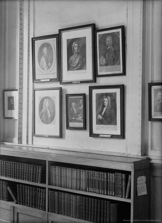 Engravings, Westminister School, London, 1932