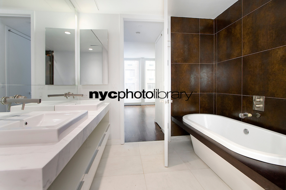 Bathroom at 133 West 22nd Street
