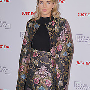 Lydia Bright attends The British Takeaway Awards 2016, Monday 5th December at The Savoy in London,,UK. Photo by See Li