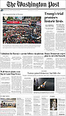 February 09, 2021 (USA): Front-page: Today's Newspapers In USA