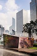 International Finance Center Tower outdoor garden, Hong Kong