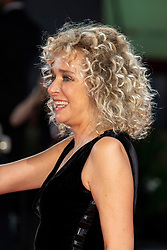 Valeria Golino walks the red carpet ahead of Les Estivants (The Summer House) screening during the 75th Venice Film Festival at Sala Grande on September 5, 2018 in Venice, Italy. Photo by Marco Piovanotto/ABACAPRESS.COM