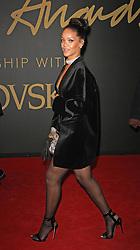 Rihanna, The British Fashion Awards 2014, The London Coliseum, London UK, 01 December 2014, Photo By Brett D. Cove © Licensed to London News Pictures. 02/12/2014. Brett D Cove/PIQ/LNP