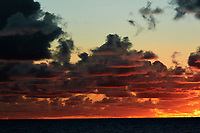 Pacific Ocean Sunrise Panorama viewed from the aft deck of the MV World Odyssey. Image 6 of 20 taken with a Nikon 1 V3 camera and 70-300 mm VR lens (ISO 200, 82 mm, f/8, 1/250 sec). Raw images processed with Capture One Pro and the panorama created using AutoPano Giga Pro.