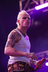 Keith Flint, of The Progigy headline the main stage on Sunday, Rockness 2009..©2009 Michael Schofield. All Rights Reserved..