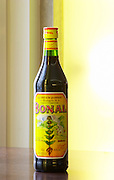 Bonal aperitif alcohol drink made from wild gentiane gentian in the Chartreuse mountains