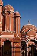 Detail of Hawa Mahal, Jaipur, Rajasthan, India