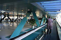 Tokyo International Exhibition Center at Odaiba is one of the largest convention venues in Tokyo, complete with moving walkways to cover the long distances between venues.