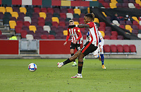 Brentford's Ivan Toney scores his side's first goal from the penalty spot<br /> <br /> Photographer Rob Newell/CameraSport<br /> <br /> The EFL Sky Bet Championship - Brentford v Blackburn Rovers - Saturday 5th December 2020 - Brentford Community Stadium - Brentford<br /> <br /> World Copyright © 2020 CameraSport. All rights reserved. 43 Linden Ave. Countesthorpe. Leicester. England. LE8 5PG - Tel: +44 (0) 116 277 4147 - admin@camerasport.com - www.camerasport.com