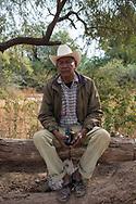 Vicam, Sonora. Mexico: Jacinto Matus Buitimeo, nella riserva Yaqui di Vicam.