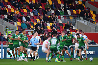 Rugby Union - 2020 / 2021 Gallagher Premiership - Round 19 - London Irish vs Exeter Chiefs - Brentford Community Stadium<br /> <br /> Fans look on during the first half.<br /> <br /> COLORSPORT