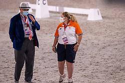 Werner Nicole, NED, Van Daele Jacques<br /> Olympic Games Tokyo 2021<br /> © Hippo Foto - Dirk Caremans<br /> 28/07/2021
