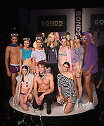 Sydney Fashion Launch, Bonds new summer underwear and clothing collections. Sarah Murdoch launches the event..Paul Lovelace Photography, 26.08.10 . An instant sale option is available where a price can be agreed on image useage size. Please contact me if this option is preferred.