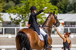 Strandby Hansen Anne-Mette, DEN, Foco Loco W<br /> FEI Youth Dressage European Championships - Pilisjászfalu 2020