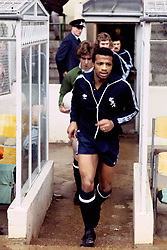 File Photo:  Former England forward Cyrille Regis has died aged 59. <br /> <br /> Cyrille Regis, West Bromwich Albion ... Soccer - Football League Division One - Arsenal v West Bromwich Albion ... 25-03-1978 ... NULL ... NULL ... Photo credit should read: S&G/S&G and Barratts/EMPICS Sport. Unique Reference No. 541989 ... NULL