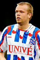 Fotball<br /> Nederland / Holland<br /> Foto: ProShots/Digitalsport<br /> NORWAY ONLY<br /> <br /> voetbal drachtster boys - sc heerenveen voorbereiding seizoen 2008-2009 18-7-2008 christian grindheim