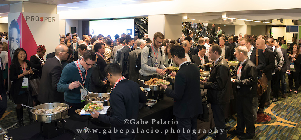 LendIt USA 2016 conference in San Francisco, California, USA on April 11, 2016. (photo by Gabe Palacio)