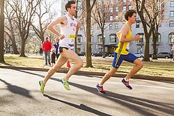 Boston Marathon: BAA 5K road race, James Leakos, BAA, NYAC,