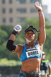Cleopatra Borel, women's shot put, adidas Grand Prix Diamond League track and field meet