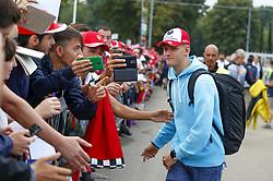 September 2, 2018 - Monza, Italy - Motorsports: FIA Formula One World Championship 2018, Grand Prix of Italy, ..Mick Schumacher (GER) (Credit Image: © Hoch Zwei via ZUMA Wire)