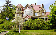 Northcentral Pennsylvania, Restored Victorian Mansion, Potter Co., historic Rt #6 PA