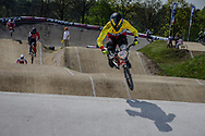 #593 (CAMPO Alfredo) ECU at the 2016 UCI BMX Supercross World Cup in Papendal, The Netherlands.