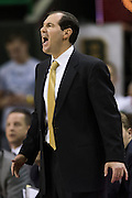 WACO, TX - JANUARY 5: Baylor Bears head coach Scott Drew looks on against the Oklahoma State Cowboys on January 5, 2016 at the Ferrell Center in Waco, Texas.  (Photo by Cooper Neill/Getty Images) *** Local Caption *** Scott Drew
